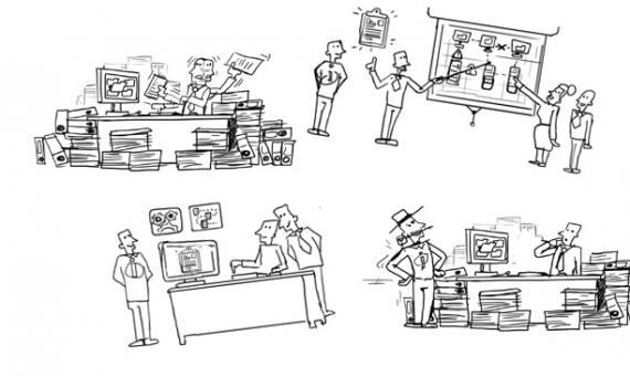 animatievideo laten maken schetsen